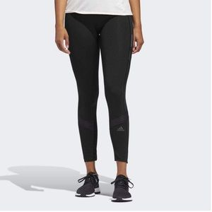 Adidas How We Do 7/8 Running Tights Small Black